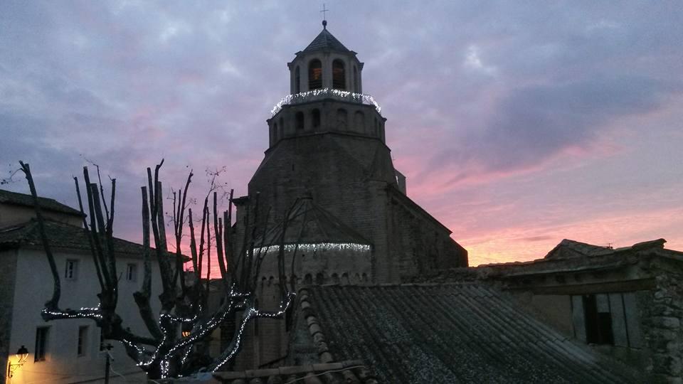 le thor coucher de soleil