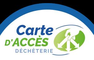 carte accès déchèterie