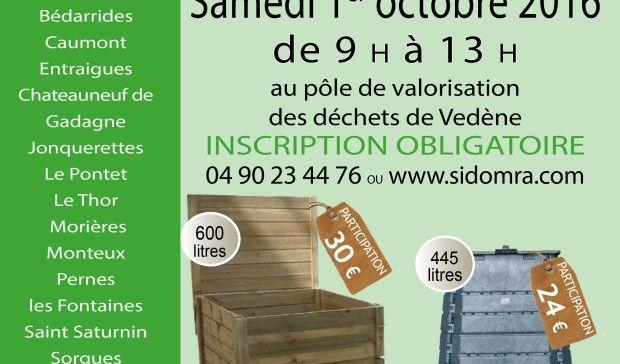 Distribution composteurs individuels 1er octobre 2016